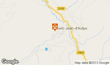 Mapa Saint Jean d'Aulps- La Grande Terche Apartamentos 42356