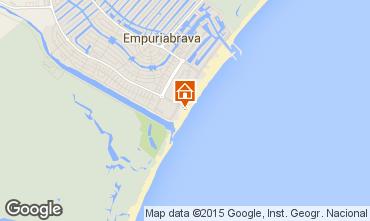 Mapa Empuriabrava Apartamentos 56325