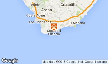 Mapa Costa del Silencio Apartamentos 94784