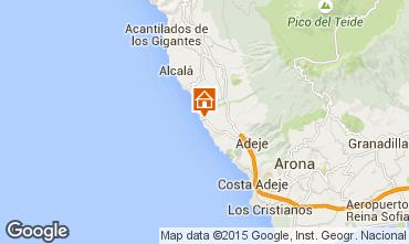 Mapa Adeje Apartamentos 55826