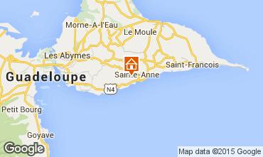 Mapa Sainte Anne (Guadalupe) Casa 8025