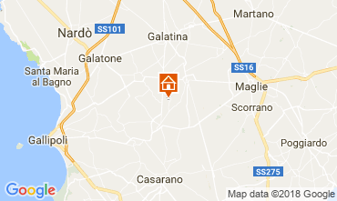 Mapa Casarano Vivenda 113763