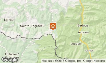 Mapa Arette La Pierre Saint Martin Est�dio 26806