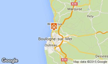 Mapa Wimereux Casa de turismo rural/Casa de campo 99594