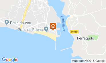 Mapa Praia da Rocha Vivenda 117009