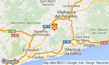 Mapa Sitges Vivenda 72356
