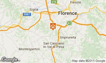 Mapa Floren�a Apartamentos 80195