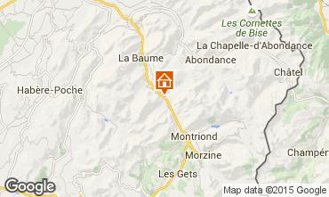 Mapa Saint Jean d'Aulps- La Grande Terche Chalé 27503