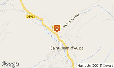 Mapa Saint Jean d'Aulps- La Grande Terche Chal� 27503