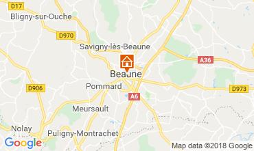 Mapa Beaune Apartamentos 116813