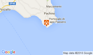 Mapa Portopalo di Capo Passero Vivenda 105741