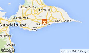 Mapa Sainte Anne (Guadalupe) Est�dio 97776