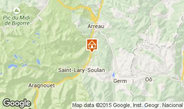 Mapa Saint Lary Soulan Casa de turismo rural/Casa de campo 97833
