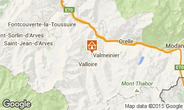 Mapa Valloire Chalé 3392