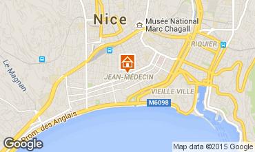 Mapa Nice Apartamentos 35021