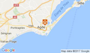 Mapa Agde Mobil Home 111054