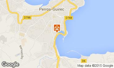 Mapa Perros-Guirec Apartamentos 35891