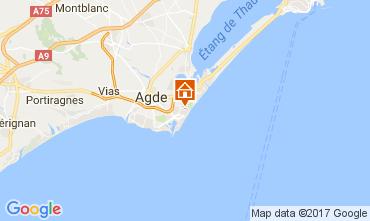 Mapa Cap d'Agde Estúdio 110295