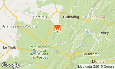 Mapa Gérardmer Chalé 94127