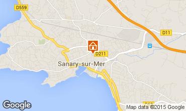 Mapa Sanary Apartamentos 60723