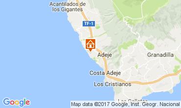 Mapa Adeje Apartamentos 15419