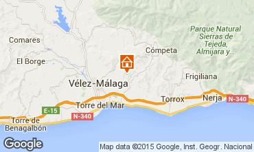Mapa Arenas Chal� 93750