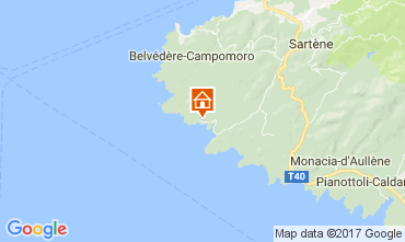 Mapa Tizzano Vivenda 112391
