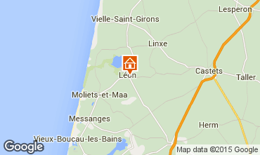 Mapa Léon Casa de turismo rural/Casa de campo 88255