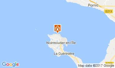 Mapa Noirmoutier en l'Île Casa 111693