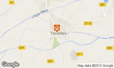Mapa Torreilles Casa 67218