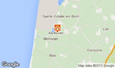 Mapa Mimizan Estúdio 77399