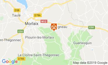 Mapa Morlaix Casa de turismo rural/Casa de campo 118940
