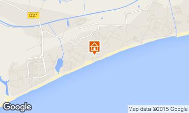 Mapa Vias Praia Mobil Home 101570