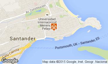 Mapa Santander Apartamentos 72165