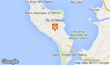 Mapa Dolus d'Oléron Mobil Home 72578
