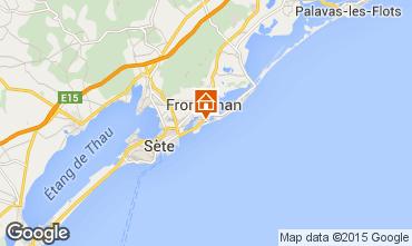 Mapa Frontignan Vivenda 78184