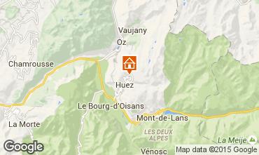 Mapa Alpe d'Huez Apartamentos 72818