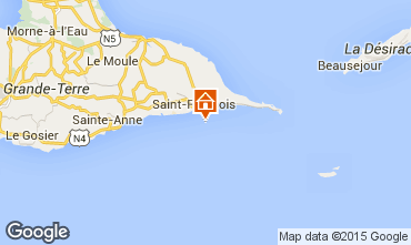 Mapa Saint Francois Est�dio 84872