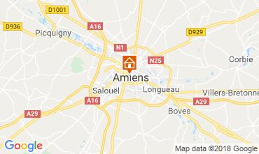 Mapa Amiens Apartamentos 117425