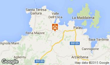 Mapa Santa Teresa di Gallura Apartamentos 31639