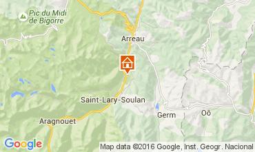 Mapa Saint Lary Soulan Apartamentos 41177