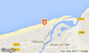 Mapa Cabourg Apartamentos 79299
