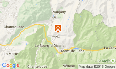 Mapa Alpe d'Huez Estúdio 69559