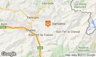 Mapa Morillon Grand Massif Apartamentos 28743