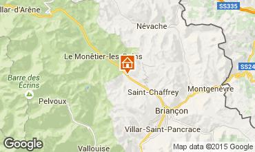 Mapa Serre Chevalier Chalé 14631