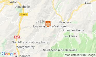 Mapa Valmorel Apartamentos 59108
