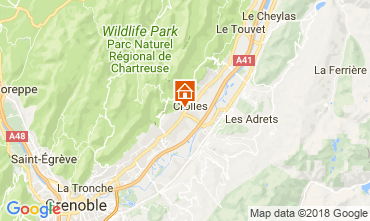 Mapa Grenoble Casa 115405