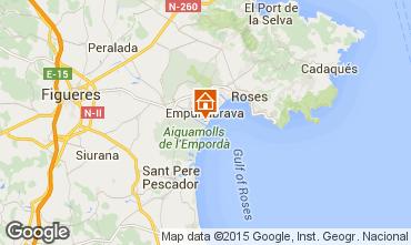 Mapa Empuriabrava Apartamentos 79551