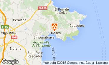 Mapa Rosas Apartamentos 68460