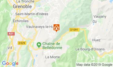 Mapa Chamrousse Apartamentos 30487